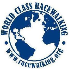 Racewalking logo