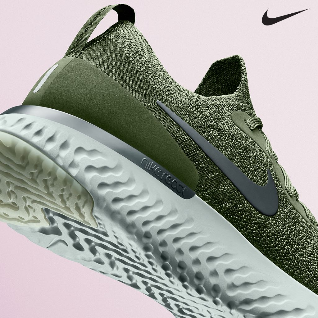 6c3cc91015 denmark the nike epic react flyknit running shoe provides crazy comfort  that lasts as long as